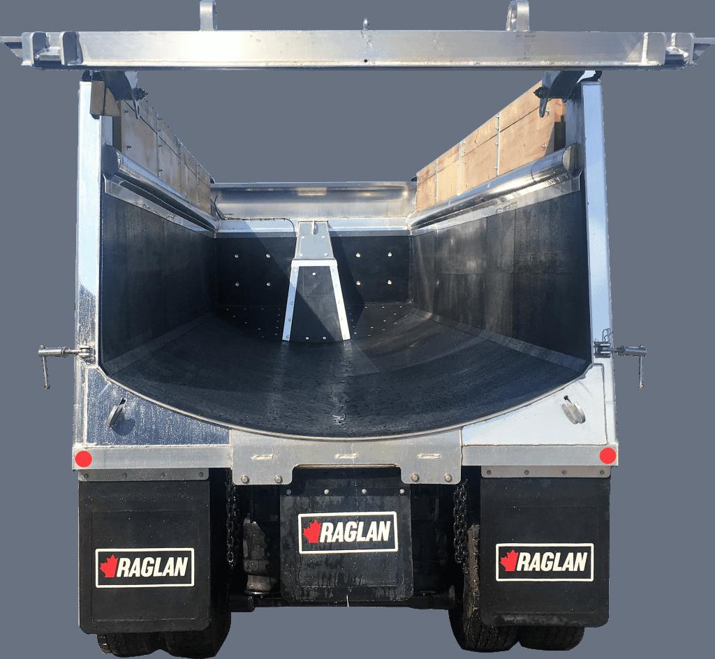 bedliner in dump trailer