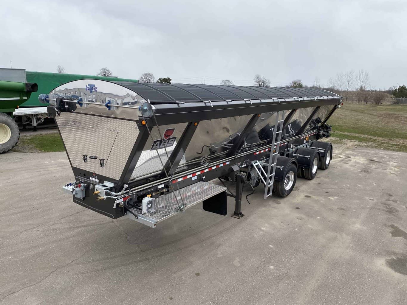 ABS Trailer with Cable Tarp System