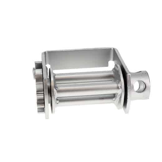 Ancra Double L Sliding Winch with 3 Bar - Galvanized, X-Treme Zinc