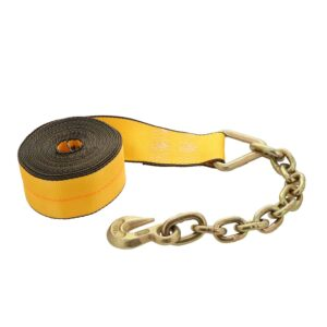 Kinedyne 3in by 30ft Chain Anchor Winch Strap K323040