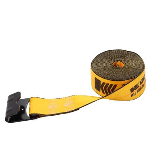 Kinedyne 3in by 30ft Flat Hook Winch Strap K323021 (3)