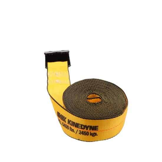 Kinedyne 3in by 30ft Flat Hook Winch Strap K323021 (4)