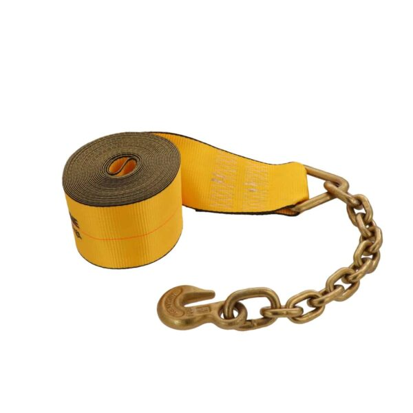 Kinedyne 4in by 30ft Chain Anchor Winch Strap K423040 (2)