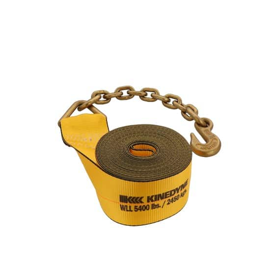 Kinedyne 4in by 30ft Chain Anchor Winch Strap K423040 (3)