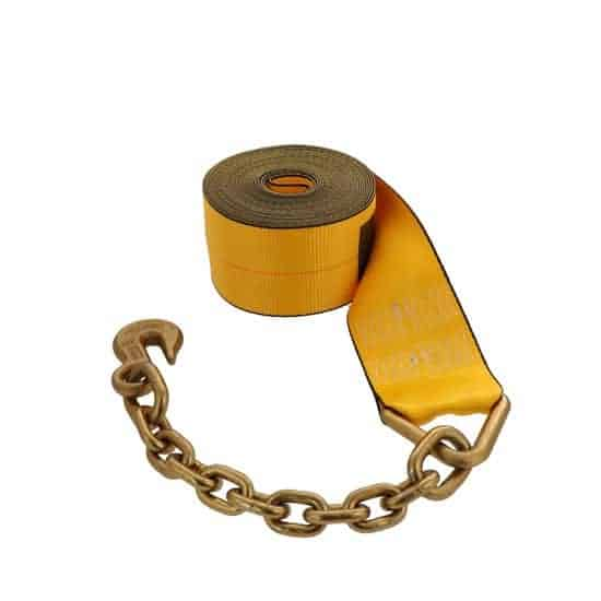 Kinedyne 4in by 30ft Chain Anchor Winch Strap K423040