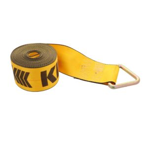 Kinedyne 4in by 30ft Delta Ring Winch Strap K423010