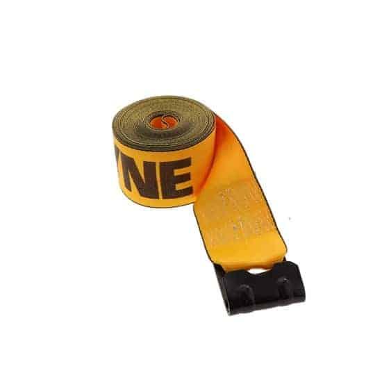 Kinedyne 4in by 30ft Flat Hook Winch Strap K423021 (2)