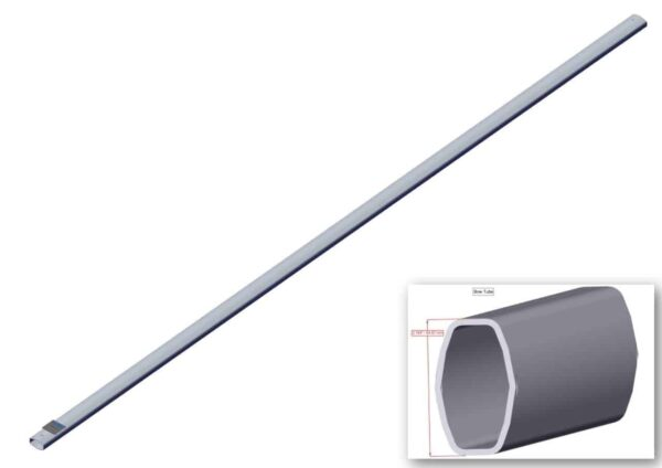 Roll Rite 103 1:2-in Wide Top Tube for Tarp Bow RR76870