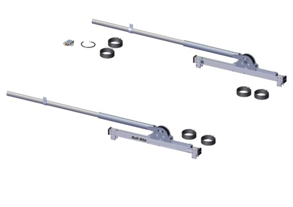 Roll Rite 20-in Narrow Profile Sliding 6 Spring Pivot Set with 96-in Tubes RR47730