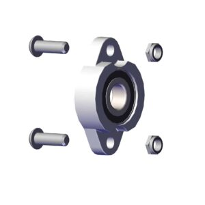 Roll Rite 3-4-in Flanged Bearing with bolts RR31050