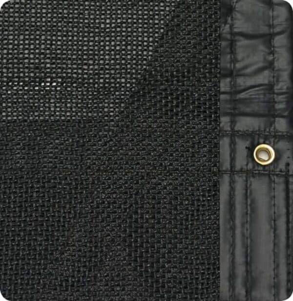 Roll Rite 96-in x 30ft Black Mesh Tarp RR86302