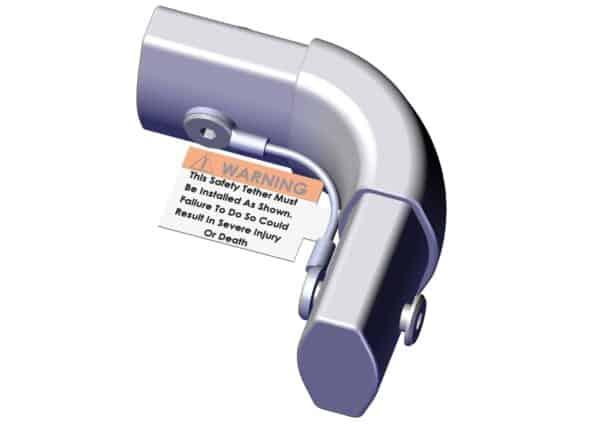 Roll Rite Aluminum Corner Casting RR76800