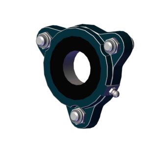 Roll Rite Carrier Underbody Flanged Bearing RR47800