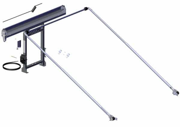 Roll Rite DC200 System w:5 Spring External Pivot and Adjustable Tower. RR69200