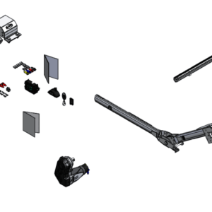 Roll Rite Electric Conversion Kit with Multi-Flex Rear Arm RR105352