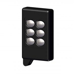 Roll Rite Keyfob, 6-button Wireless for Black Control Box RR19801