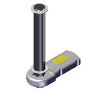 Roll Rite Pivot Pin for 8 Spring Roller Bearing Pivot, Driver Side RR47400