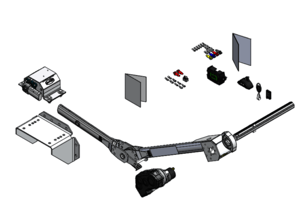 Roll Rite Roll Rite Electric Conversion Kit for Flat Top Trailers - Walking Floors RR371031