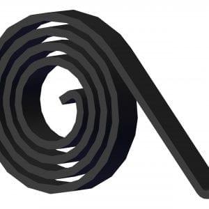 Roll Rite Spiral Torsion Spring (fits all Roll-Rite pivots w:1 1:4-in pivot pins) RR47230