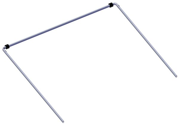 Roll Rite Wide Aluminum Tarp Bow Set (2 - 76764 and 1 - 76870) RR76720