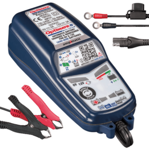 TecMate TM-321 - OptiMATE 5 Select 8-step 6V 4A : 12V 2.8A sealed battery saving charger and maintainer-1