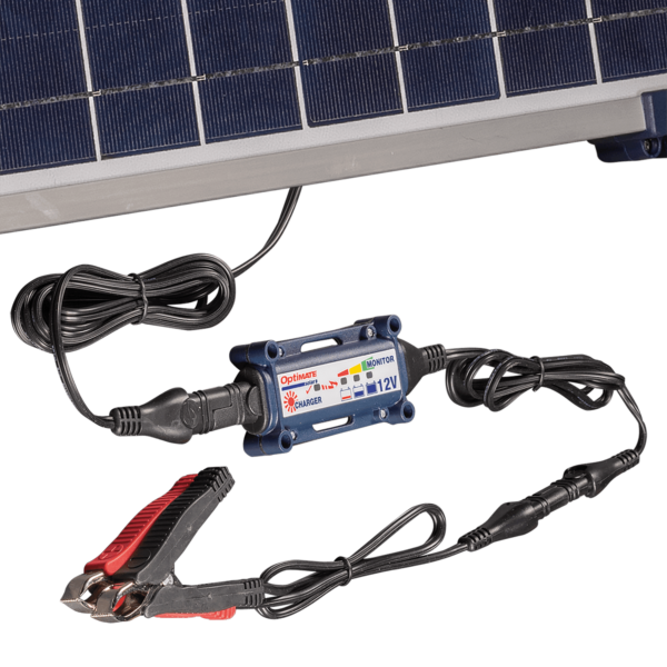 TecMate TM-523-4 - OptiMATE 5 Solar 40W battery Saving Charger and Maintainer (5)