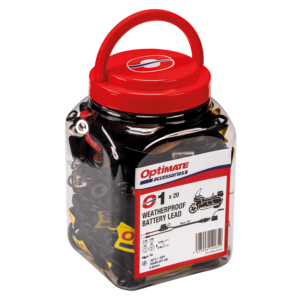 Tecmate OptiMATE CABLE O-01 JAR, Weatherproof battery lead, powersport, 20 x O-01 (1)