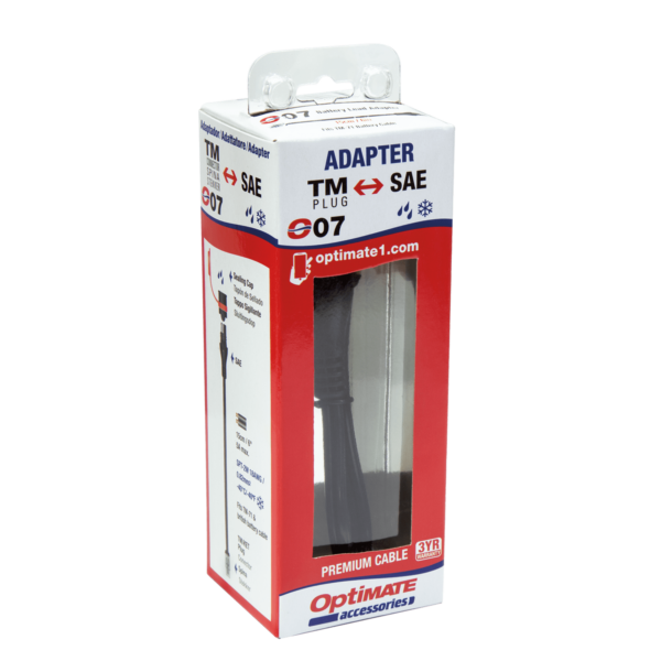 Tecmate OptiMATE CABLE O-07, Adapter, battery lead, KET to SAE (4)