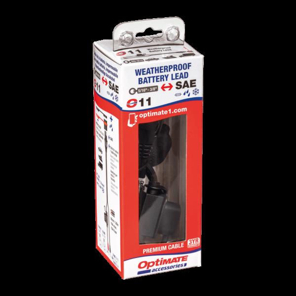 Tecmate OptiMATE CABLE O-11, Weatherproof battery lead, heavy duty:auto:marine (5)