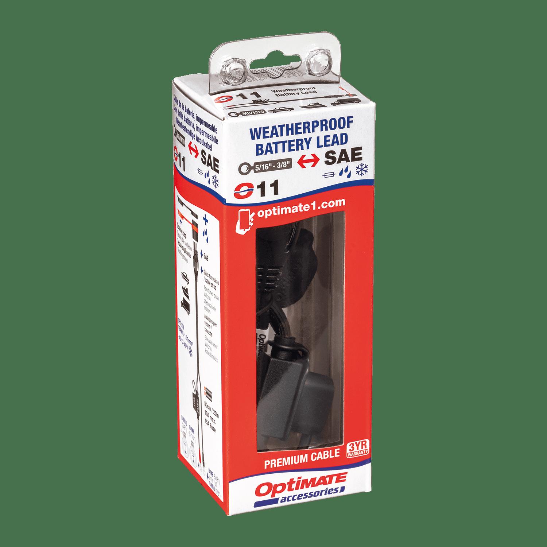 Weatherproof Battery Lead Heavy Duty//Auto//Marine OptiMATE Cable O-11