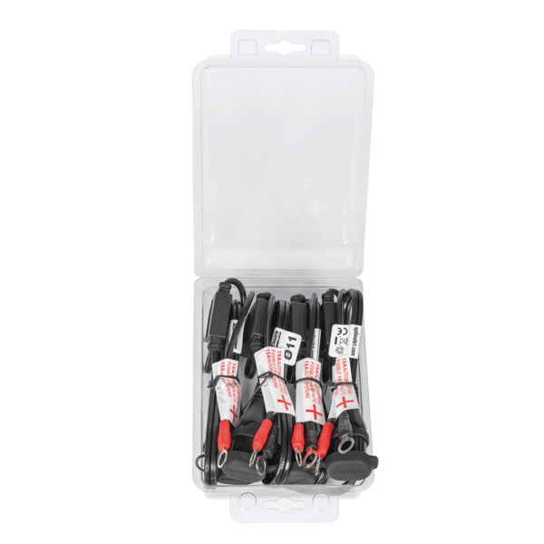 Tecmate OptiMATE CABLE O-11x4 PACK, Weatherproof battery lead, heavy duty:auto:marine. 4 X O-11 (2)