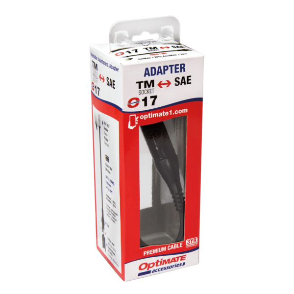 Tecmate OptiMATE CABLE O-17, Adapter, charger lead (3)