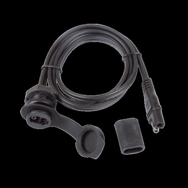 Tecmate OptiMATE CABLE O-40, Weatherproof SAE socket, panel mount - 40-in (2)