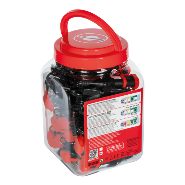 Tecmate OptiMATE MONITOR O-124JAR, Permanent power sport battery lead with integrated battery status : charge system monitor for 12V lead-acid. (2)