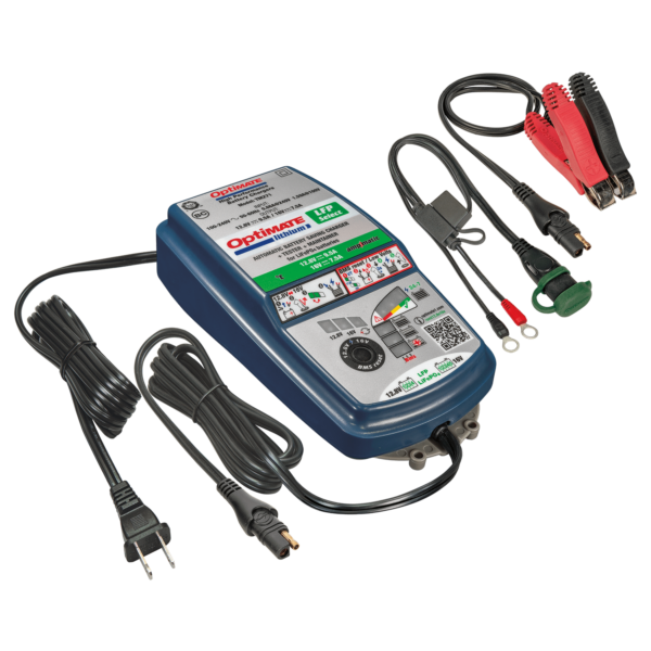 Tecmate TM-271 OptiMATE Lithium 4s 9.5A / 5s 7.5A, 10-step 12.8V / 16V sealed battery saving charger and maintainer
