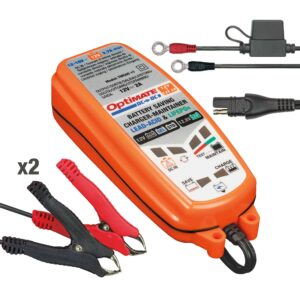 Tecmate TM-500 OptiMATE DC-DC, 6-step 12V:12.8V 2A sealed DC to DC battery saving charger and maintainer (1)