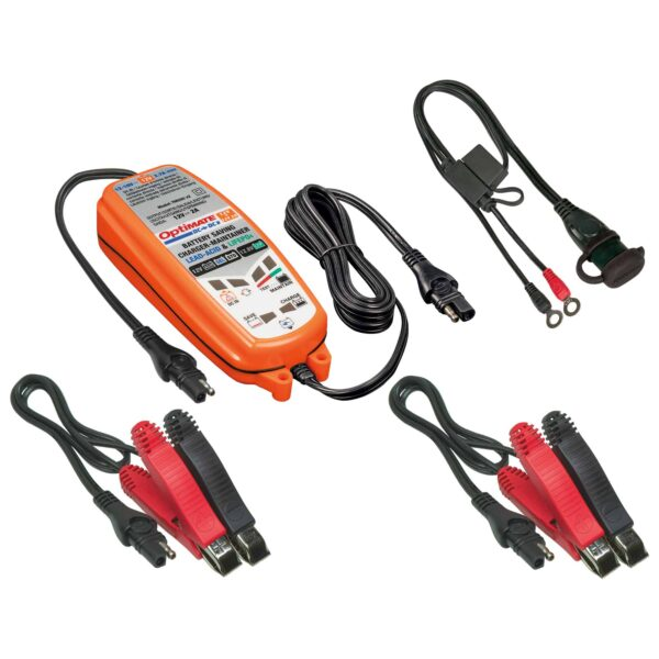 Tecmate TM-500 OptiMATE DC-DC, 6-step 12V:12.8V 2A sealed DC to DC battery saving charger and maintainer (2)