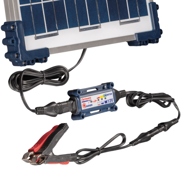 Tecmate TM-522-1 OptiMATE Solar 10W, 6-step 12V 0.83A sealed solar battery saving charger and maintainer (4)