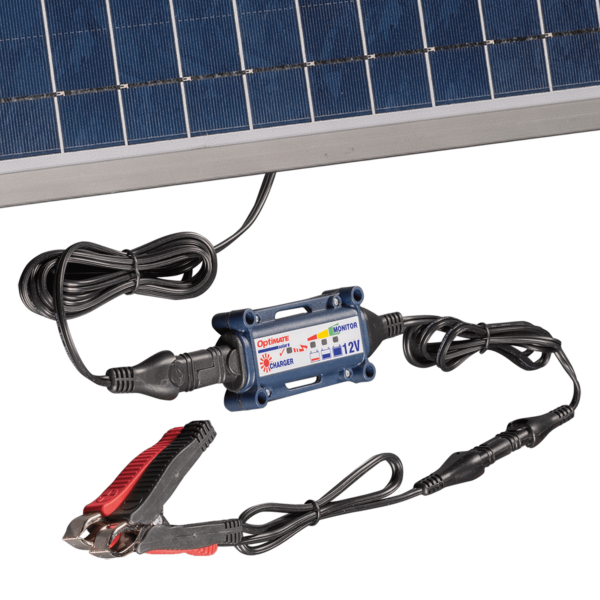 Tecmate TM-523-6 OptiMATE Solar 60W, 6-step 12V 5A sealed solar battery saving charger and maintainer (4)