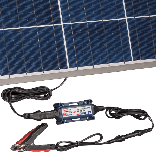 Tecmate TM-523-8 OptiMATE Solar 80W, 6-step 12V 6.66A sealed solar battery saving charger and maintainer (4)