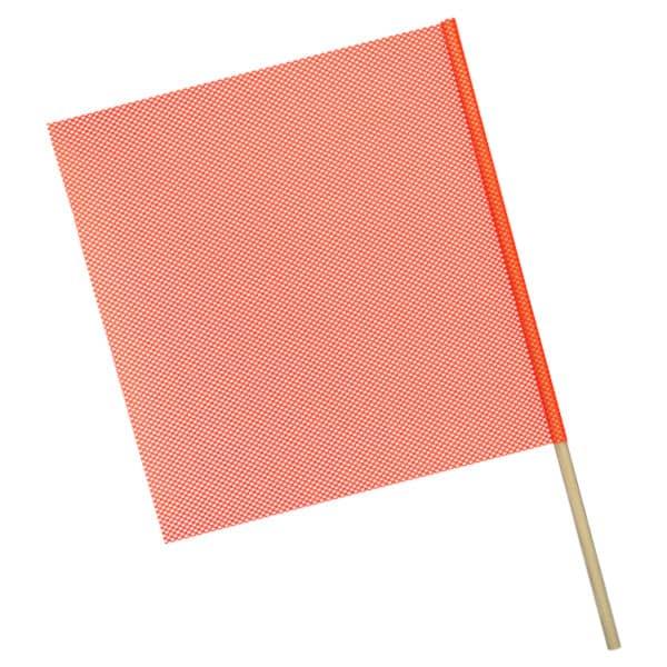 OWPI Dowel Warning Flag, 3:4-in diameter, orange, size 24-in OF11222