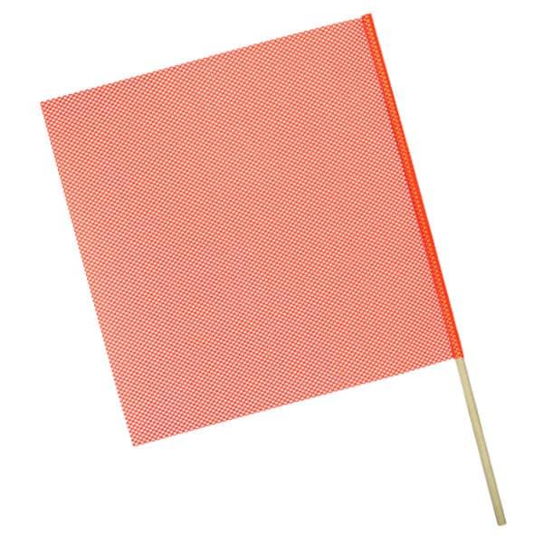 OWPI Dowel Warning Flag, 5/8-in diameter, orange, size 24-in OF11224