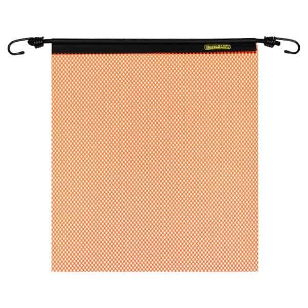 OWPI EZ Hook Warning Flag, orange, size 18-in OF10211