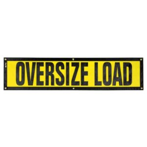 OWPI Grommet Escort Oversize Load Sign OF10142