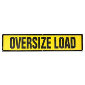 OWPI Grommet Oversize Load Sign OF10141