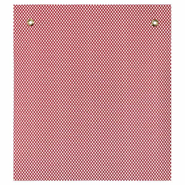 OWPI Grommet Warning Flag, red, size 18-in OF10131