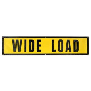 OWPI Grommet wide Load Sign OF10143