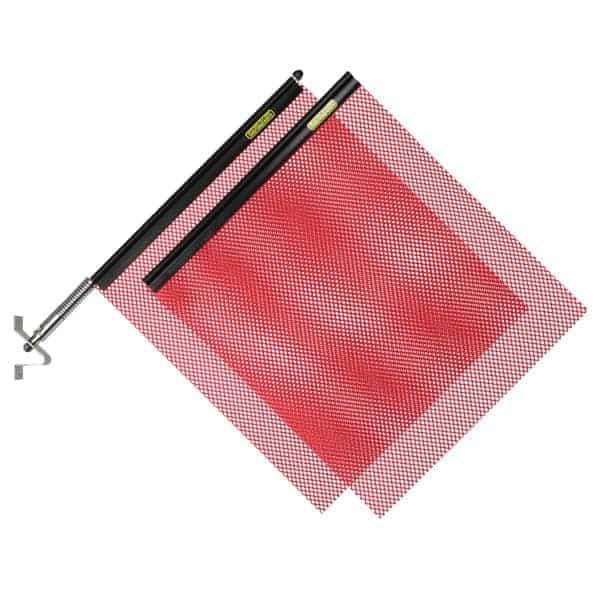 OWPI Quickmount Flag Kit, red OF10100