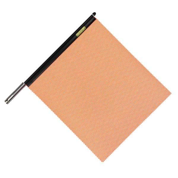 OWPI Quickmount Warning Flag Assembly, orange OF10201