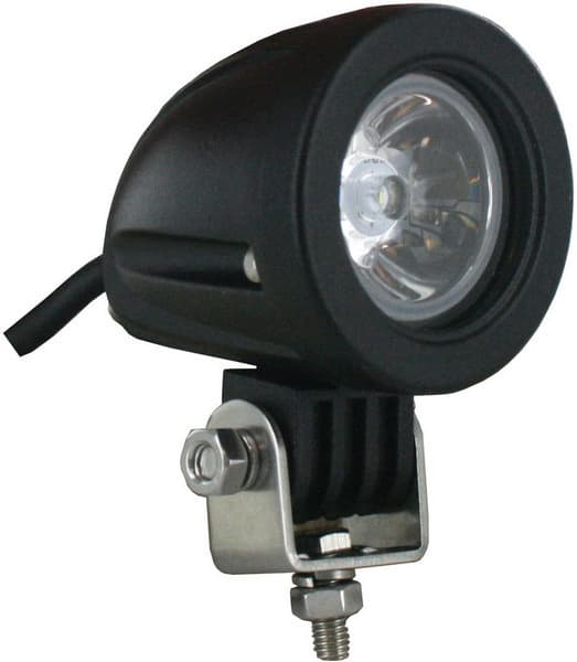 Techspan Megalumen 2-in alum round (mini) Tractor/Utility - 750LX Spot Beam LMP LED TS725233